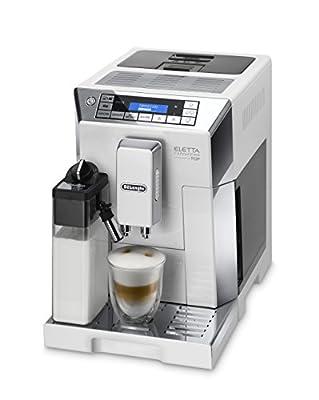 De'Longhi Eletta Cappucino ECAM45.760W Bean-to-Cup Coffee Machine - White from Delonghi