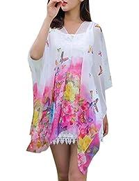 Disfraz Para Mujer/Niños, ❤️Xinantime Bufanda de la gasa de la protección solar