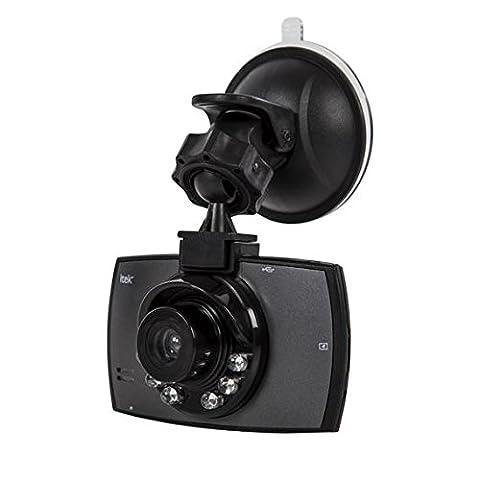 Itek i67001Slimline HD Auto-Kamera mit Bewegungserkennung, Schwarz