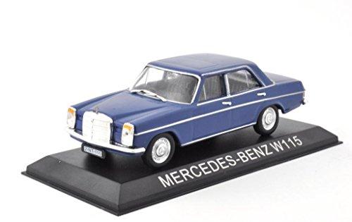 DieCast Metall Modellauto 1:43 Mercedes Benz W115 220 blau