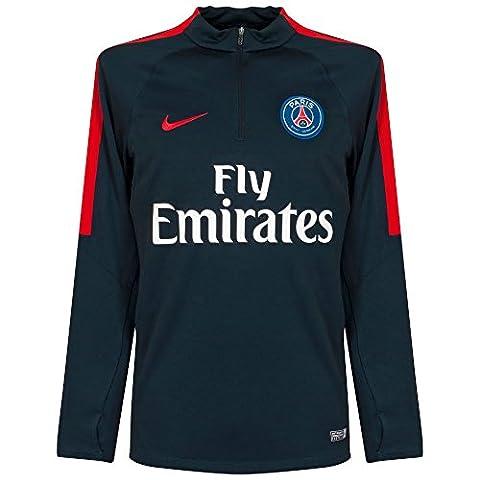 Nike - PSG M DRIL TOP SQD - Maillot - Bleu - XL - Homme