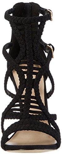 Aldo Sinfony, Sandales Bout Ouvert Femme Noir (98 Black)