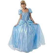 Rubie 's–Disfraz de Disney Cenicienta Grand Heritage Deluxe oficial–grande