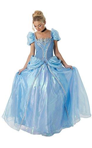 Rubie's Offizielles Damen Disney Cinderella Kostüm GRAND Heritage Deluxe–kleine
