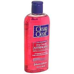 Clean & Clear Lotion astringente Deep Cleaning - Nettoie en profondeur pour traiter et prévenir les boutons - Sans huile