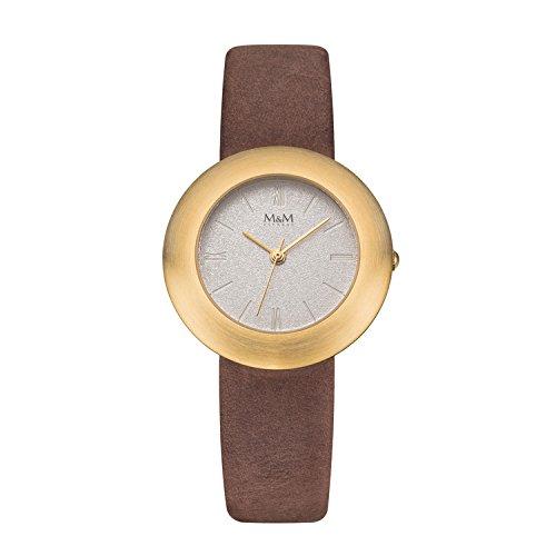 M & M de mujer reloj de pulsera Best basic analógico de cuarzo M11828–517
