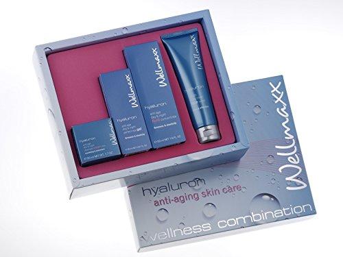 Wellmaxx Hyaluron Gesichts-Pflegeset, Beautyset (Geschenkset)