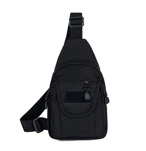 Wmshpeds Esterno in tela di mimetizzazione uomini casual sports borsa a tracolla messenger femmina sacchetto tattiche selvatici coreano piccola borsa del torace F
