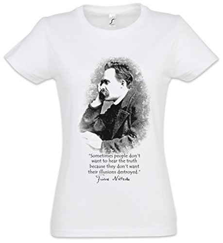 Friedrich Nietzsche Illusions Women T-Shirt- Sizes XS - 2XL
