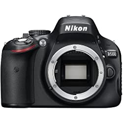 Nikon D5100 Appareil photo numérique Reflex 16.2 Boîtier nu Noir