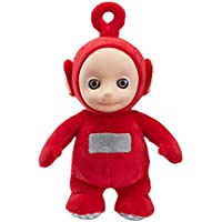 Teletubbies 06107 Cbeebies Talking Po Soft Toy (Red)
