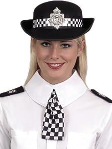 ADULT WOMENS WPC SET COPS & ROBBERS POLICE SMIFFYS FANCY DRESS COSTUME (accesorio de disfraz)