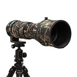 Mekingstudio, copertura protettiva, per l'obiettivo della fotocamera, in gomma, mimetica, per Sigma 150-600mm Contemporary