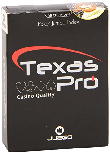 Juego - Texas Hold'Em Pro Playing Cards Display, juego de mesa (ITA To