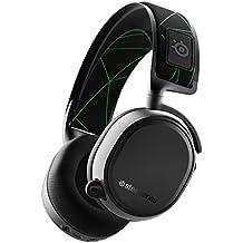 Steelseries Arctis 9X Auriculares, Conectividad Inalámbrica Y Mediante Bluetooth Incorporadas, Hasta 20 Horas De Batería, Negro