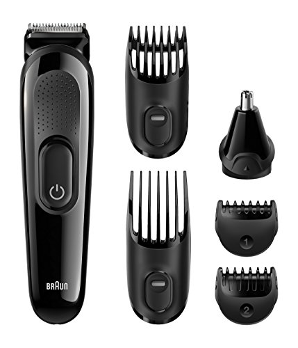 Braun Multi Grooming Kit MGK3020 - 6-in-one face and head trimming kit.