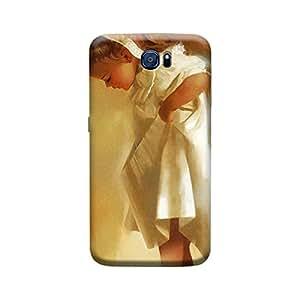 Ebby Premium Printed 3D Designer Back Case Cover For Samsung S6 (Premium Designer Cae)