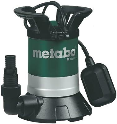 Metabo 250800000 Klarwasser-Tauchpumpe TP8000S, 350W, 230Volt, 50Hz von Metabo
