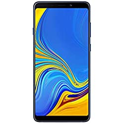 "Samsung Galaxy A9 (2018) Smartphone, Blu (Lemonade Blue), Display 6.3"" 128 GB Espandibili, Dual Sim [Versione Italiana]"