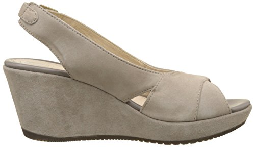 Stonefly Marlene Ii 2, Sandales Bout Ouvert Femme Gris (Taupe 423)