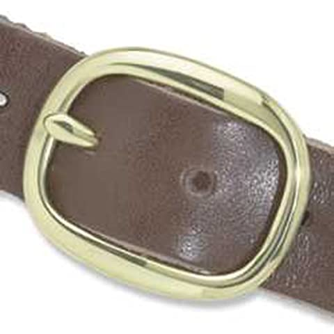 Tandy Leather Solid Brass Center Bar Buckle 1-1/4