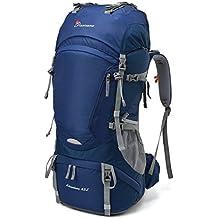 MOUNTAINTOP 65L Zaino Trekking Impermeabile Escursionismo Montagna Campeggio Alpinismo Viaggio