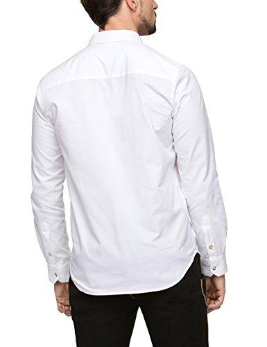 Stockerpoint Herren Trachtenhemd Weiß (Weiß)