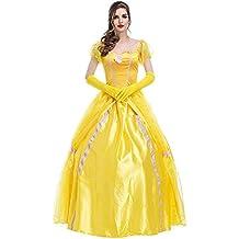 Disfraz de Princesa Para Mujer Cosplay Vestido Halloween Carnaval
