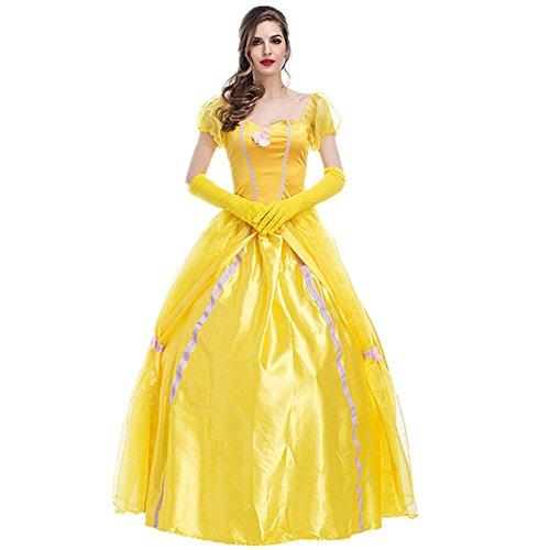 Disfraz de Princesa Para Mujer Cosplay Vestido Halloween Carnaval Talla XXL