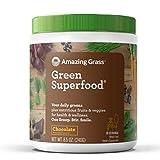 Green Superfood Chocolate Drink Powder (30 Day Supply, 8.5oz)