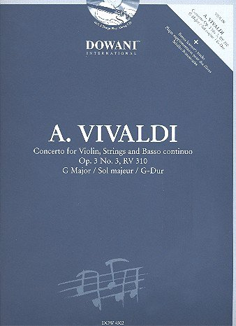 Musical Instruments & Gear Instruction Books, Cds & Video Antonio Vivaldi Concerto N°14 En Mi Majeur Learn Play Orchestra Sheet Music Book
