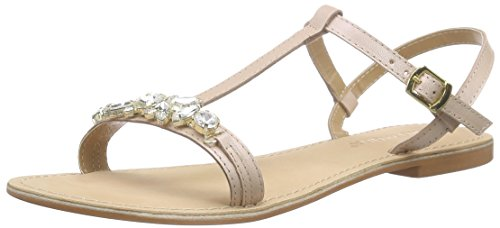 Vero Moda Sarah Leather Sandal - Sandali a Punta Aperta Donna, colore rosa (rose dust), taglia 40 EU