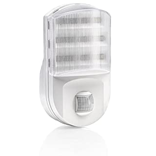 Auraglow Super Bright Plug In PIR Motion Sensor Hallway Living Aid Safety LED Night Light