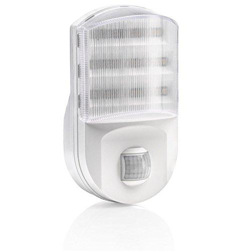 Motion sensor indoor lights amazon auraglow super bright plug in pir motion sensor hallway living aid safety led night light mozeypictures Images