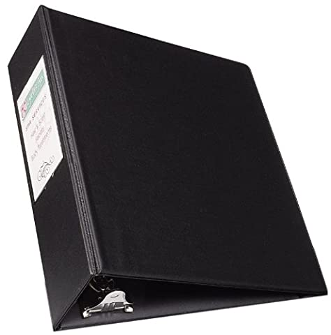 Durable EZ-Turn Ring Reference Binder W/ Label Hldr, 8-1/2 x 5-1/2, 2