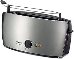 Bosch TAT6801 Langschlitz-Toaster private collection Edelstahl / schwarz