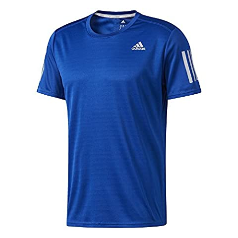 adidas RS SS Tee M Tee for Man, Blue (Reauni), M