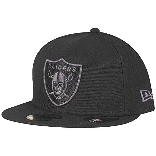 New Era Oakland Raiders Black Graphite 59FIFTY 7 (56cm)