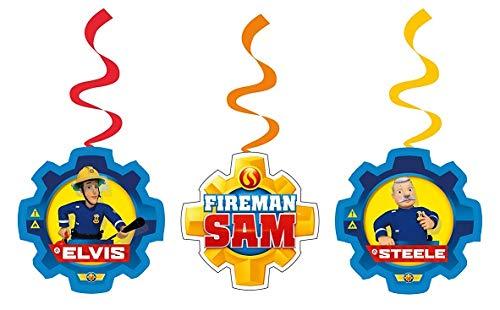 Amscan International 9902183Feuerwehrmann Sam Swirl Dekoration Kit
