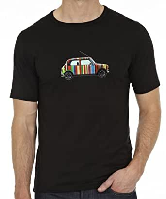 Next Weeks Washing Men's Mini T-Shirt (Inspired By Paul Smith) Black Small