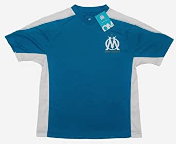 """Maillot supporter - Collection officielle - OLYMPIQUE DE MARSEILLE - OM - football club """" Supporter """" - Ligue 1 - Taille adulte S"""
