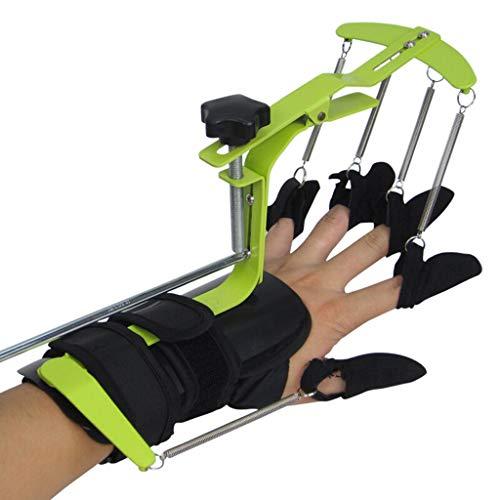 WUHX Finger-Trainer, Multifunktions-Hand-Physiotherapie-Rehabilitationsgerät, verstellbare Sehnenreparatur-Orthese, für Patienten mit Schlaganfall, Hemiplegie -