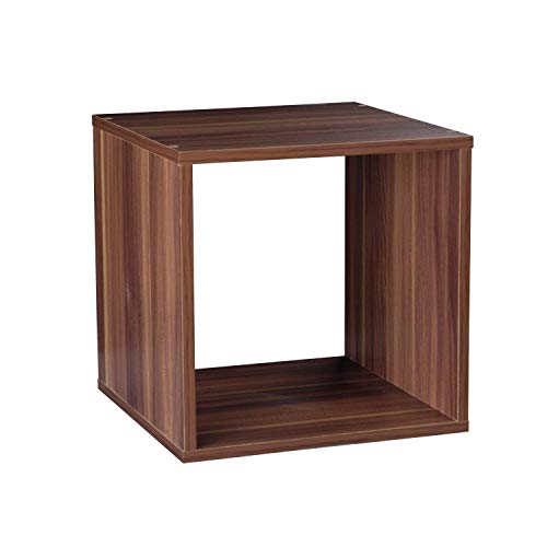 Generic Ounge Home Coffee Square Lou Square Lounge S Book Magazine Bücher Azines Small End Table OOD Side Cube Wood Side