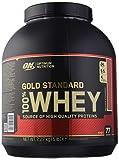 Optimum Nutrition ON Gold Standard 100% Whey Proteína en Polvo Suplementos Deportivos con Glutamina y Aminoacidos Micronizados Incluyendo BCAA, Fresa Deliciosa, 77 Porciones, 2.27 kg