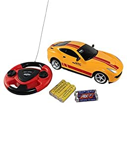 Saffire Remote Control Car With Steering (colour may vary )