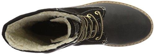 Jane Klain Boot, Bottes mi-hauteur avec doublure chaude femme Noir - Noir (000)