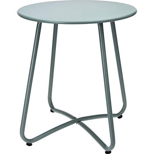 KIB Side Table Metal Round Diameter 40 cm Height 45 cm