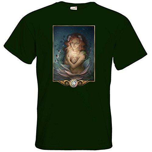 getshirts - Das Schwarze Auge - T-Shirt - Götter - Tsa Bottle Green