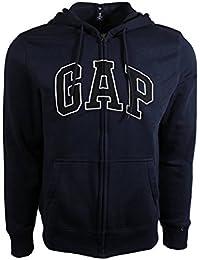 GAP Sudadera de Lana Arch Logo con Cremallera para Hombre