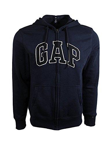 Gap logotipo arco forro polar hombre cremallera completa